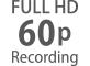 Frame rate Full HD da 24p a 60p