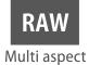 RAW in vari formati