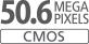 Sensore CMOS APS-C da 50,6 megapixel