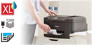 MAXIFY-save money on ink and paper.
